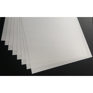 Evergreen, 8 Styrene Sheets 530mm - 0.25mm 9101