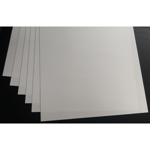Evergreen, 6 Styrene Sheets 530mm - 0.38mm 9102