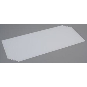 "Evergreen 9103 Plastic Styrene Plain Sheet Thickness  .020"" (0.5mm)  Qty 6"