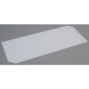 "Evergreen 9104 Plastic Styrene Plain Sheet Thickness: .030"" (0.75mm) Qty 4"