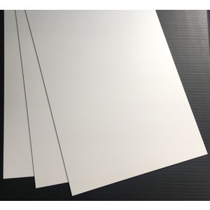 Evergreen, 3 Styrene Sheets 530mm - 1.0mm 9105