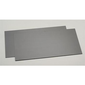 Evergreen 9515 Plastic Styrene Black Sheet .040x6x12 (152mm x 305mm) (1.0mm) Qty 2