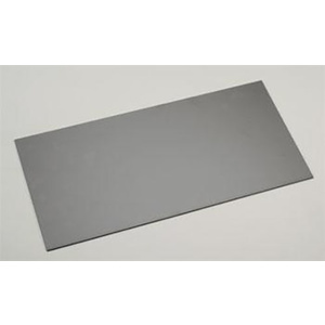 "Evergreen 9517 Plastic Styrene Black Sheet .080"" x 6"" x 12"" (152mm x 305mm) (2.0mm)Qty 1"