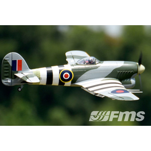 FMS Typhoon 1100MM Wingspan EPO Warbird RC Airplane PNP