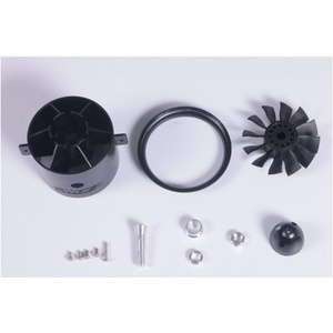 FMS 70mm Ducted Fan V1 KIT (without motor)-12 Blades #DF12B70