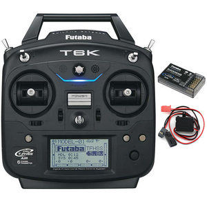 Futaba 6K V2 8-Channel 2.4GHz Computer Radio System Mode 2