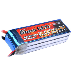 Gens Ace 2200mah 55c 11.1v LIPO BAttery