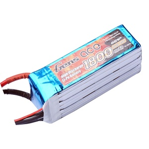 Gens ace 1800mAh 22.2V 45C 6S1P Lipo Battery for Goblin 380