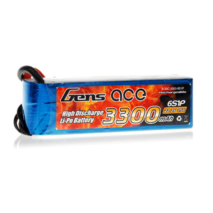 Gens Ace 22.2v Lipo 3300mah 35C Battery