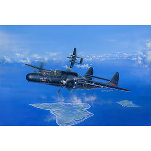 P-61B Black Widow -- Plastic Model Airplane Kit -- 1/48 Scale -- #81731