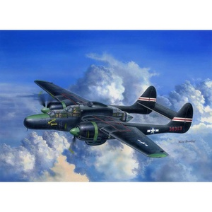 US P-61C Black Widow -- Plastic Model Airplane Kit -- 1/48 Scale -- #81732