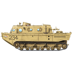 HobbyBoss German Land-Wasser-Schlepper (LWS) amphibious tractor Early production 82918