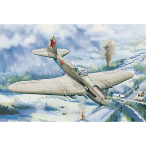 IL-2 Ground attack aircraft Model Kit #83201