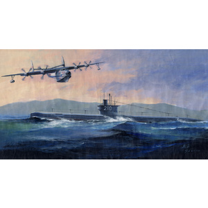 HobbyBoss Models 1:350 PLAN Type 033 Submarine & SH-5 HB83515