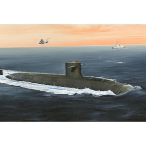 HobbyBoss Models 1:350 French Navy Le Triomphant SSBN HB83519