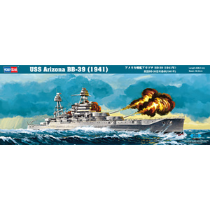 HobbyBoss Models 1:350 USS Arizona BB-39 (1941) HB86501