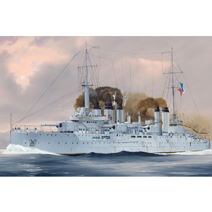 HobbyBoss Models 1:350 French Navy Pre-Dreadnought Battleship Danton HB86503