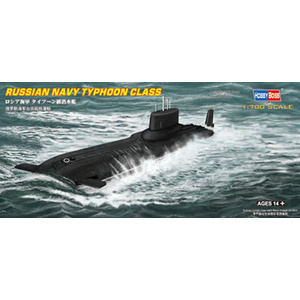 HobbyBoss Models 1:700 Russian Navy Typhoon class Submarine HB87019