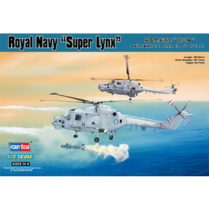 Royal Navy Lynx HMA.8 (Super Lynx) Model Kit 87238