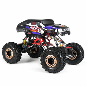 Cars Elect RTR HBX Rock Fighter, 1/10 Rock Crawler, 4WD #5628