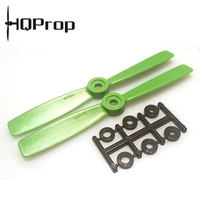 HQ Prop Bullnose 3D 5X4.5 CW GREEN (pack of 2) Racing Quad
