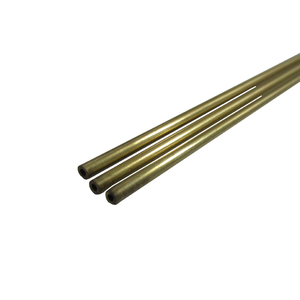 K&S Precision Metals Brass Round Stock Tube 2mm OD x 0.45mm x 1000mm #3920 (Qty 1)