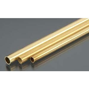 3/16'', 7/32'', 1/4'' Bendable Brass Tubes (3/cd) KS 5076