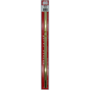 7/16''x12'' Round Brass Tube .014 Wall (1) KS 8137