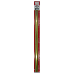 19/32''x12'' Round Brass Tube .014 Wall (1) KS 8142