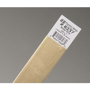 .025''x1''x12'' Brass Strips (1) KS 8237