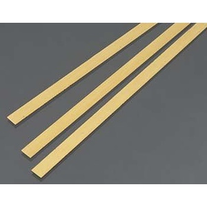Brass Strip .5mm Thick x 6mm Wide (3) KS 9840
