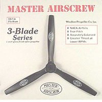 10x7 3-Blade Pusher Master Airscrew (MA1070TP)