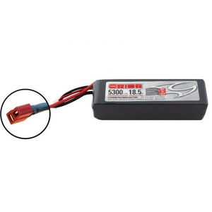 18.5V  LiPo 5S 5300mah 50C  Battery LED Status ORI60204