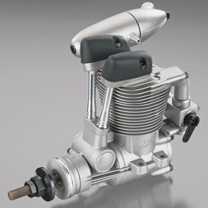 FS-62V 4 Stroke Nitro Engine With F-4050 Silencer