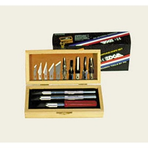 PROEDGE 30910 WOOD CARVING KNIFE SET BOXED