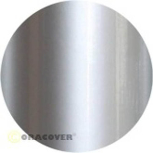 Iron-on film covering Silver Oracover 21-091-002 (L x W) 2000 mm x 600 mm
