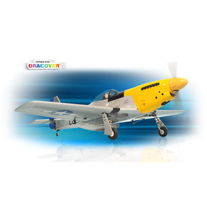 PH068 – P51 MUSTANG Size.46-.55 GP/EP SCALE 1:7 ½ ARF RC Plane - Warbird