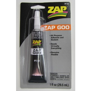 PT-12A Zap Adhesives Zap-A-Dap-A-Goo 1 oz