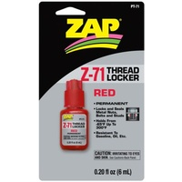 ZAP RED Thread Locker PT71 Z-71