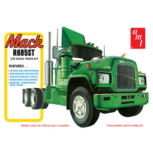 AMT 1/25 Mack R685ST Semi Tractor Truck Model Kit Review AMT1039