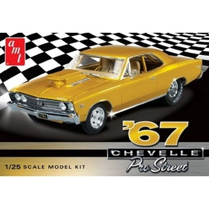 1967 Chevy Chevelle Pro Street Car 1/25 Scale Plastic Model Car Kit  #876