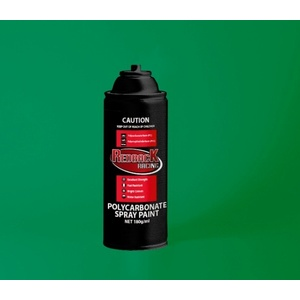 Racing Green Polycarbonate Spray Paint 180ml - RBPCS022 PS-22