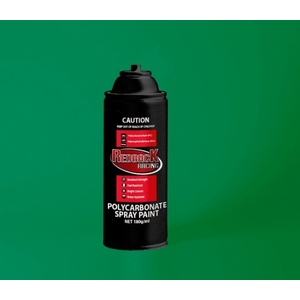 Bright Green Polycarbonate Spray Paint 180ml - RBPCS025 PS-25