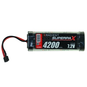 7.2V 6-Cell 4200mAh NiMH Batteries