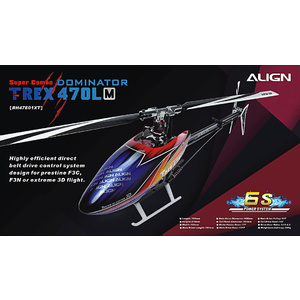 TREX 470LM Super Combo Helicopter