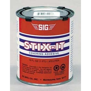 SIG STIX-IT Heat Activated Covering Adhesive 16OZ