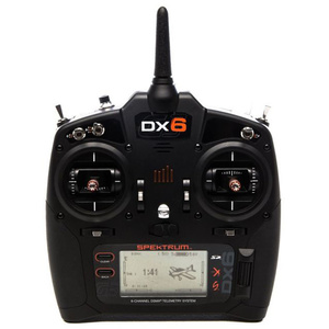 Spektrum DX6 Transmitter Combo w/ AR6600T Receiver, Mode 2