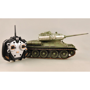 RC T-34/85 Battle Tank Olive Green