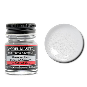 Model Master Aluminum Buff Metallic Metalizer 1/2 oz #1401