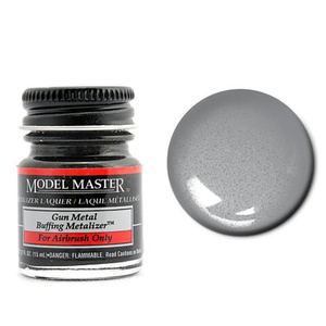 Model Master Gunmetal Buff Metallic Metalizer 1/2 oz #1405